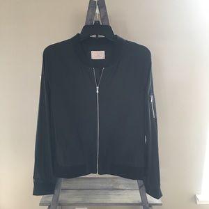 🌺Stylish Bomber jacket black Jr. size L